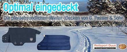 Winter-Decken für Dein Pferd von G. Passier & Sohn
