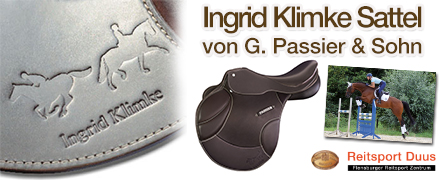 Ingrid Klimke Sattel von G. Passier & Sohn